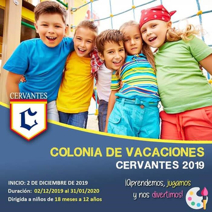 Colegio Cervantes. Colonia de vacaciones 2019