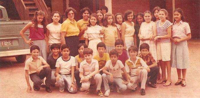 Colegio Cervantes. Historia.