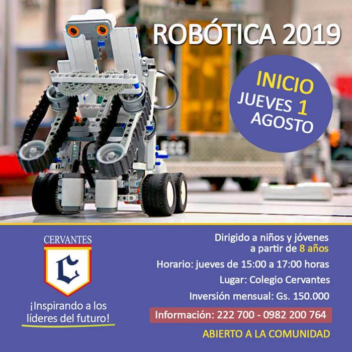 Colegio Cervantes. Robótica 2019