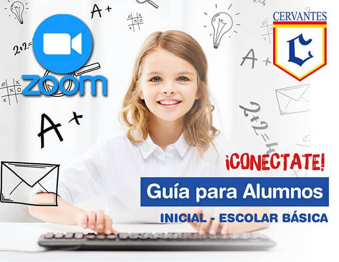 Colegio Cervantes. Clases virtuales a través de la plataforma ZOOM.